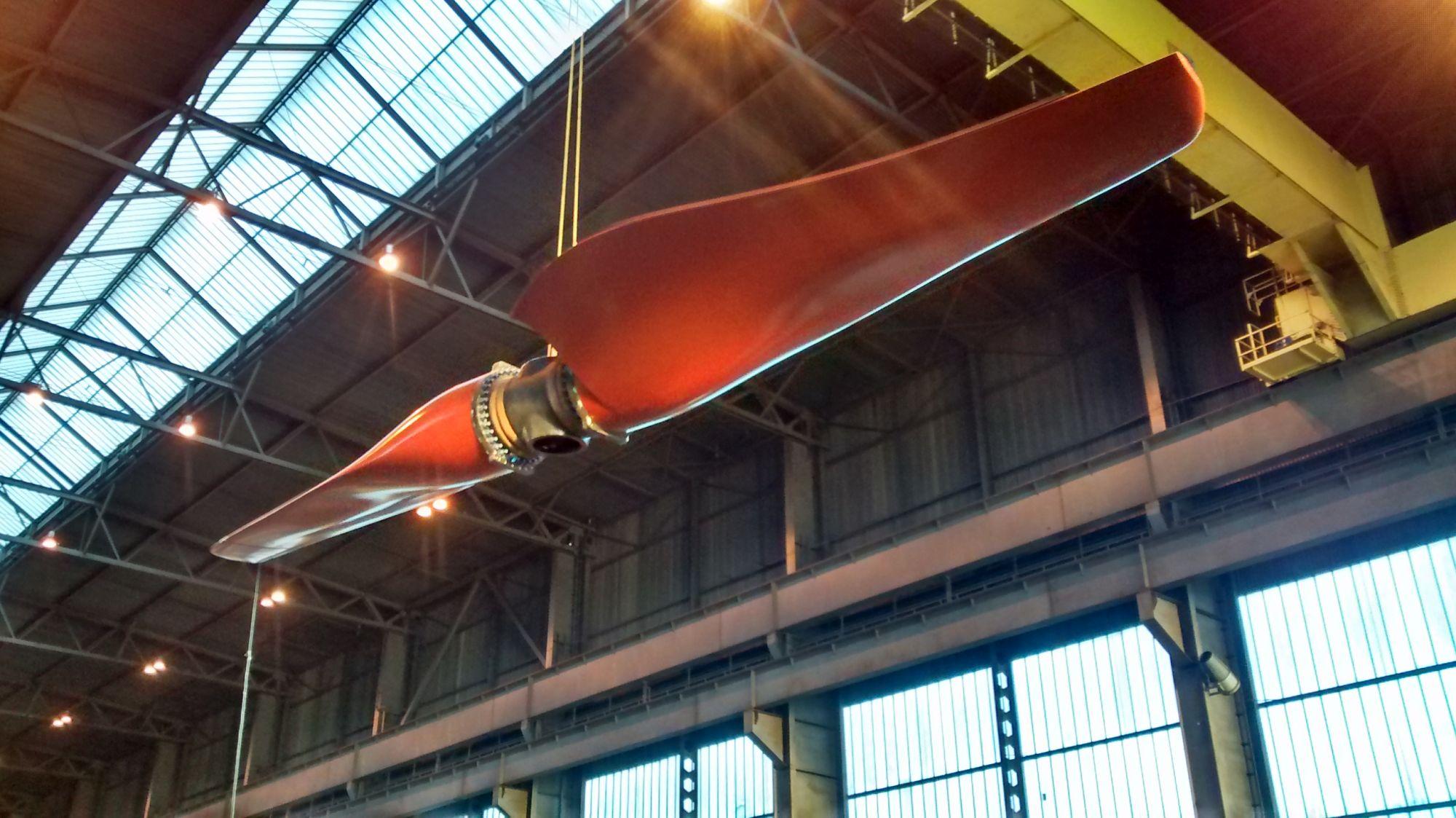 Scott Renewable Tidal Turbine Blades