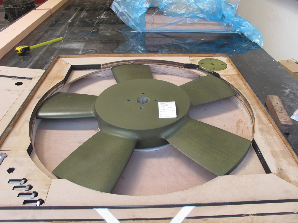 Wells Turbine Fan