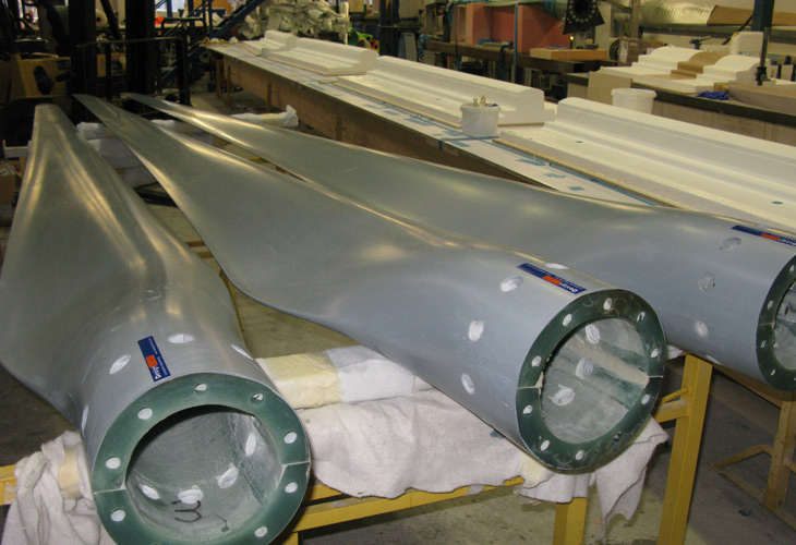 Tidal Turbine blades